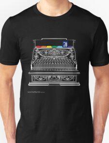 T-Shirt 70/85 (Finance) by Genevieve Hoey & Kirsten Gracie Unisex T-Shirt