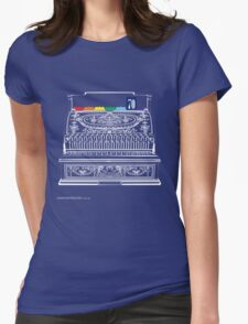 T-Shirt 70/85 (Finance) by Genevieve Hoey & Kirsten Gracie Womens Fitted T-Shirt