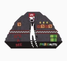 Mario-nette by Fix-it-Fran