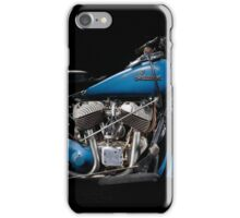 1948 Indian Chief engine iPhone Case/Skin