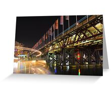 Watch out for the Bridge!!! Greeting Card
