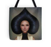 Queen of spades portrait Tote Bag