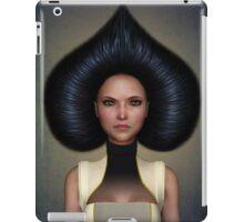 Queen of spades portrait iPad Case/Skin