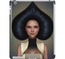 Queen of spades portrait iPad Case/Skin