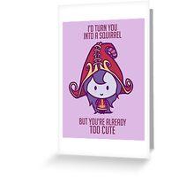 Lulu: League of Valentines Greeting Card
