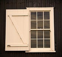 A window at Ritchie's Mill, Launceston by Elana Bailey