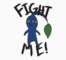 Fight Me! (Blue Pikmin) by risathefabulous