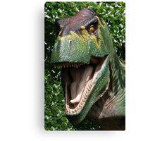 Dinosaur's yearbook photo Canvas Print