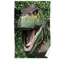 Dinosaur's yearbook photo Poster