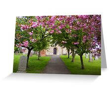 The Churchyard Greeting Card