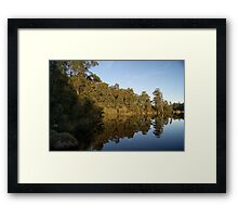 Time to Reflect... Framed Print