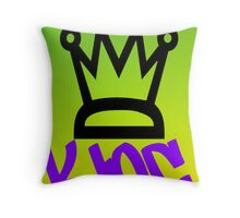 King-ltd edition, special coloring Throw Pillow