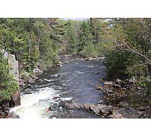 Rushing River Photographic Print