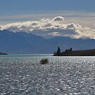 Lake Tekapo and the Southern Alps by Peter Hammer
