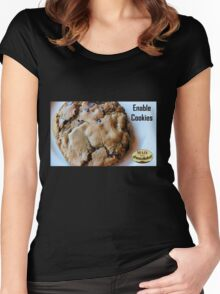 Enable Cookies Women's Fitted Scoop T-Shirt