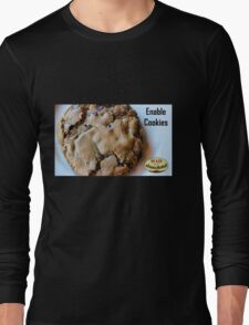 Enable Cookies Long Sleeve T-Shirt