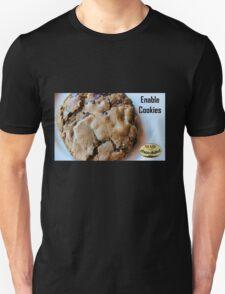 Enable Cookies Unisex T-Shirt