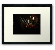 Light Streak Framed Print