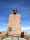 Lincoln Monument, IS80 Wyoming, USA by Margaret  Hyde