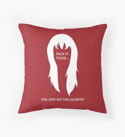 Mary Jane 'Jackpot' Throw Pillow