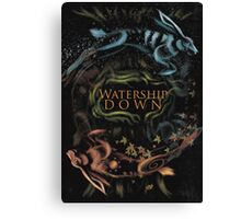 Watership Down alternative book cover Canvas Print