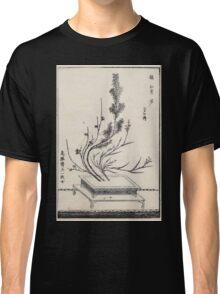 Shofu Enshuryu ikebana hamana no umi Flower Arrangement Toto Shoshi V3 1835 0014 Classic T-Shirt