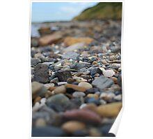 Coastal Pebbles Poster