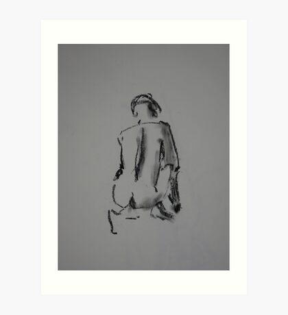 Crouch Art Print