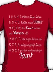 Doctor's Rhymes T-Shirt