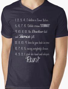 Doctor's Rhymes Mens V-Neck T-Shirt