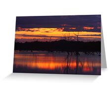 Menindee Magic 2  Greeting Card