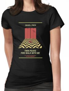Twin Peaks: Red Room Womens Fitted T-Shirt