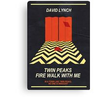 Twin Peaks: Red Room Canvas Print