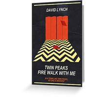 Twin Peaks: Red Room Greeting Card