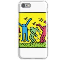 keith haring people iPhone Case/Skin
