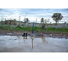 Paddling in Puddles.... Photographic Print