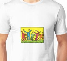 keith haring people Unisex T-Shirt