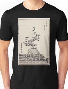 Shofu Enshuryu ikebana hamana no umi Flower Arrangement Toto Shoshi V1 1835 0012 Unisex T-Shirt