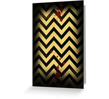 Welcome to the Black Lodge Greeting Card