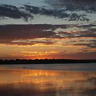 Sunset over Bremer Bay by Adrian Kent