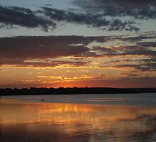 Sunset over Bremer Bay by adbetron