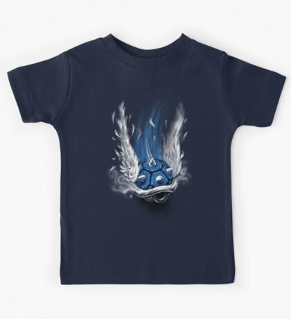 Blue Shell Attack Kids Tee