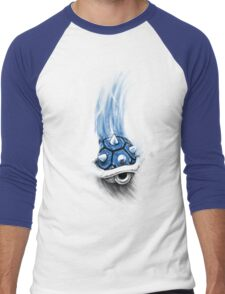 Blue Shell Attack Men's Baseball ¾ T-Shirt