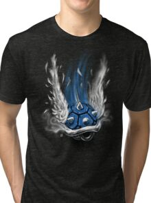 Blue Shell Attack Tri-blend T-Shirt