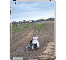 Scooting up the track... iPad Case/Skin