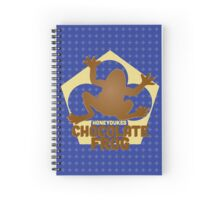 Chocolate Frog - Harry Potter Spiral Notebook