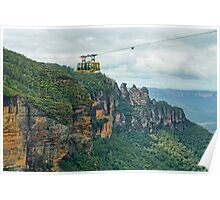 Blue Mountains Crossing Poster
