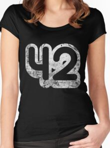 42 Women's Fitted Scoop T-Shirt