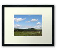 The other side of Curbar Edge Framed Print