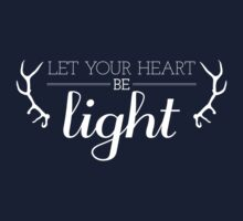 Let Your Heart Be Light One Piece - Short Sleeve